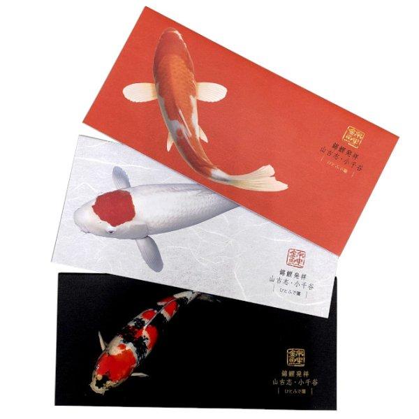 画像1: 錦鯉ひとふで箋 (1)