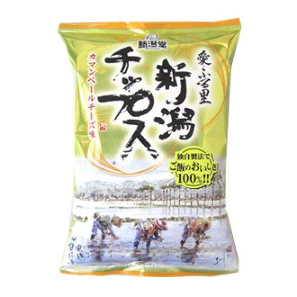 画像1: 新潟チップス カマンベールチーズ味 (1)