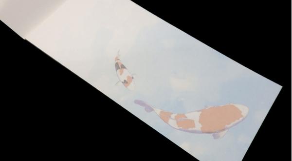 画像2: 錦鯉一筆箋