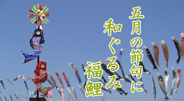 画像1: 和ぐるみ 福鯉 (小)