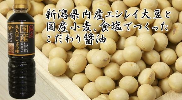 画像1: 国産丸大豆しょうゆ 500ml