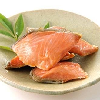 画像1: サーモン小切味噌漬焼